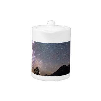 Nuit de galaxie de Teton