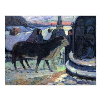Nuit de Noël - Paul Gauguin Carte Postale