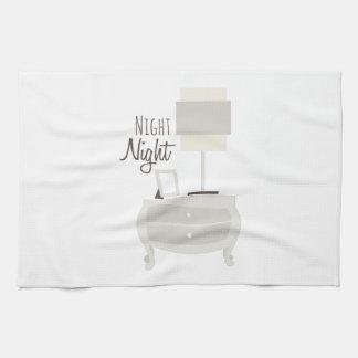Nuit de nuit serviette pour les mains