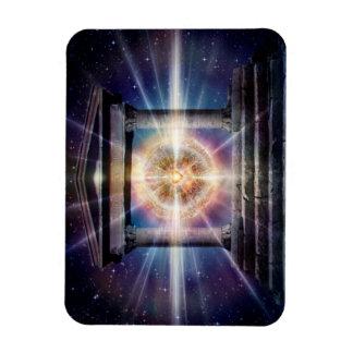 Nuit de temple du coeur H111 Magnets