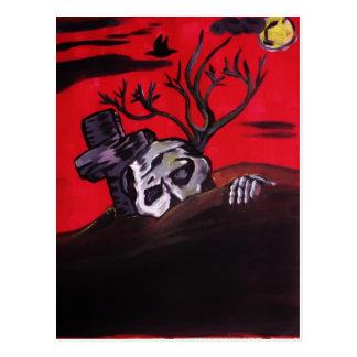 Nuit de zombi carte postale