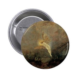 Nuit d'été, Grimshaw, fée victorienne vintage Badge Rond 5 Cm