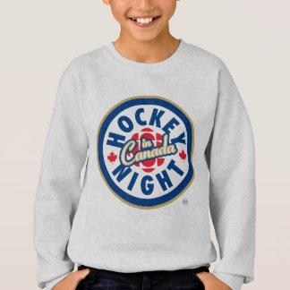 Nuit d'hockey dans le logo du Canada Sweatshirt