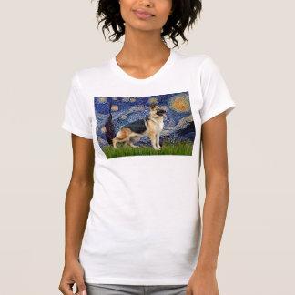 Nuit étoilée - berger allemand 13 t-shirt