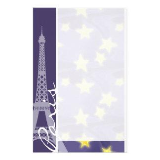Nuit étoilée de Paris ; Tour Eiffel Papeterie