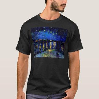 Nuit étoilée de Van Gogh au-dessus des beaux-arts T-shirt