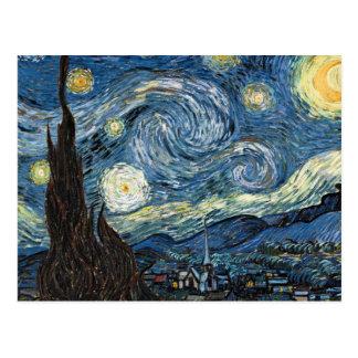 Nuit étoilée de Van Gogh Carte Postale