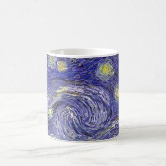 Nuit étoilée de Van Gogh, paysage vintage de Mug