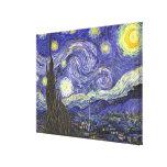 Nuit étoilée de Van Gogh, post impressionnisme vin Impressions Sur Toile