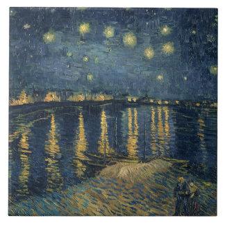 Nuit étoilée de Vincent van Gogh | au-dessus du Grand Carreau Carré
