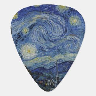 Nuit étoilée par Vincent van Gogh Onglet De Guitare