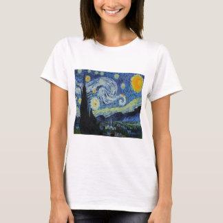 """""""Nuit étoilée"""" par Vincent van Gogh, T-shirt"""