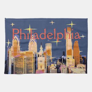 Nuit étoilée Philadelphie Serviette Pour Les Mains