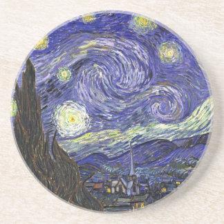 Nuit étoilée, Vincent van Gogh. Dessous De Verre