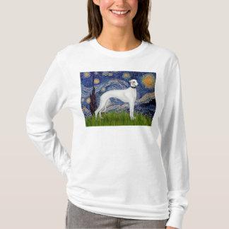 Nuit étoilée - whippet (11b) t-shirt
