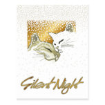 Nuit silencieuse cartes postales