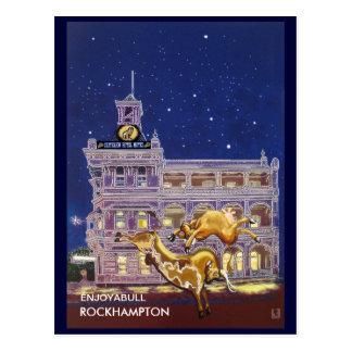 Nuit sur la ville - Rockhampton Carte Postale