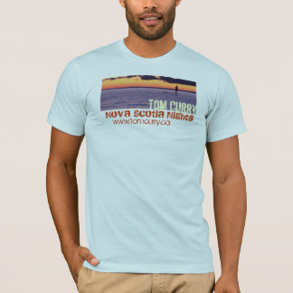 Nuits de la Nouvelle-Écosse de ~ de cari de Tom T-shirt