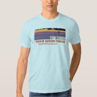 Nuits de la Nouvelle-Écosse de ~ de cari de Tom T-shirts