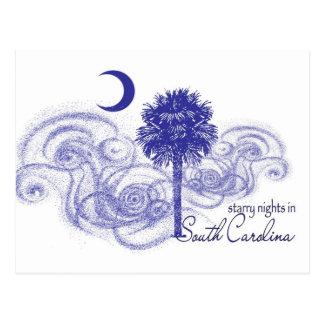 Nuits étoilées en Caroline du Sud Carte Postale