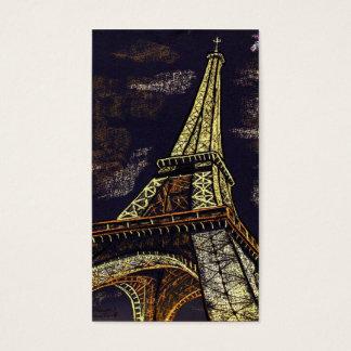 nuits parisiennes cartes de visite
