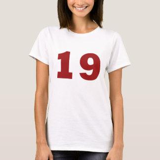 Numéro 19 ! t-shirt