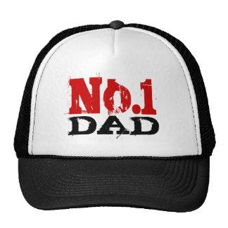 Numéro 1 no. du casquette   de camionneur de papa