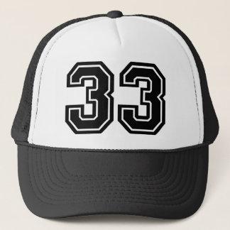Numéro 33 casquette
