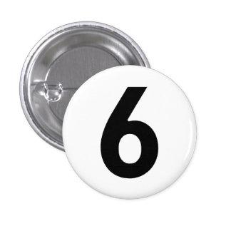 Numéro six - Le prisonnier Badge