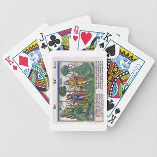 Numéros 2 les attributions de camp des israélites, jeu de poker