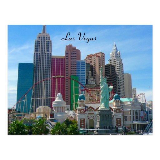 ny ny, Las Vegas Carte Postale