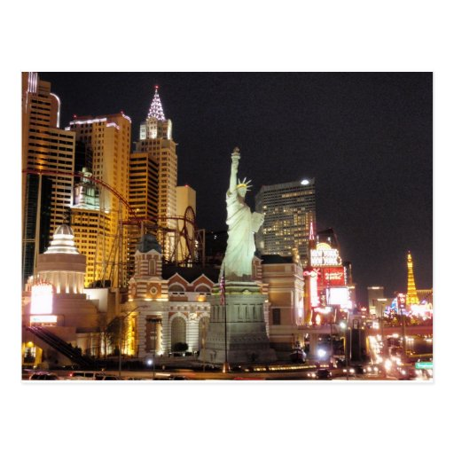 NY, NY - Vegas Cartes Postales
