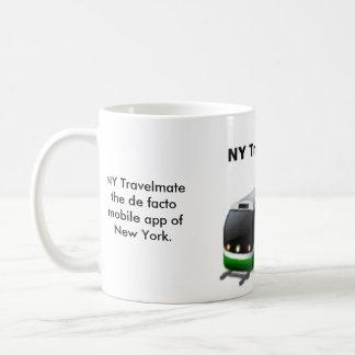 NY Travelmate tasse blanche classique de 11 onces