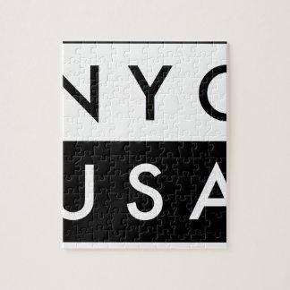 NYC ETATS-UNIS PUZZLES