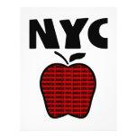 NYC - Grand Apple avec chacune des 5 villes Prospectus 21,6 Cm X 24,94 Cm