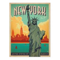 NYC - Madame Liberty Cartes Postales