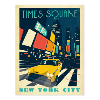 NYC - Times Square Carte Postale