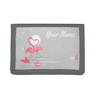 Nylon de portefeuille de nom de côté d'amour de