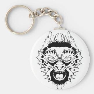 Nymphe de diable porte-clés