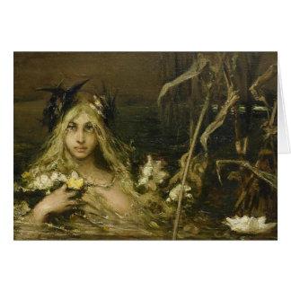 Nymphe d'eau - Wilhelm Kotarbinski Cartes
