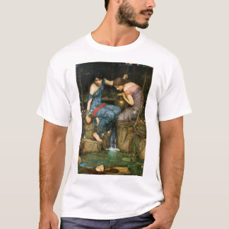 Nymphes trouvant la tête du T-shirt d'Orphée