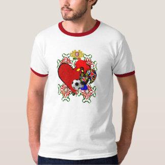 O Amor le Portugal - le Selecção DAS Quinas T-shirt