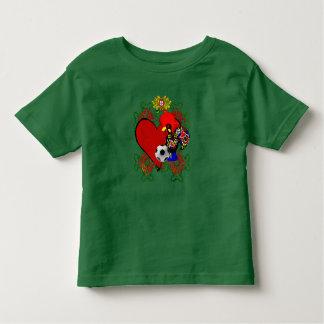 O Amor le Portugal - le Selecção DAS Quinas T-shirt Pour Les Tous Petits