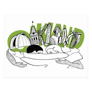 Oakland Carte Postale