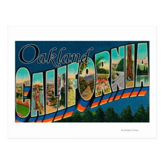 Oakland, la Californie - grandes scènes 2 de Cartes Postales