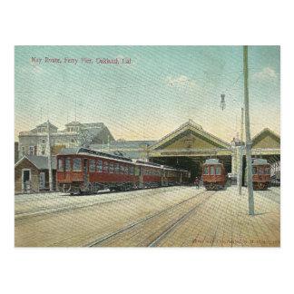 Oakland vintage la Californie Carte Postale