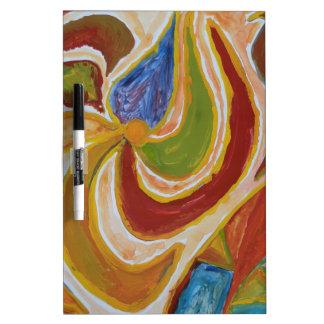 Oasis des couleurs tableau effaçable à sec