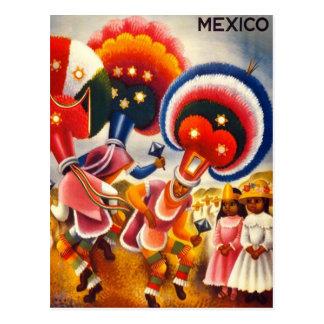Oaxaca vintage Mexique Carte Postale