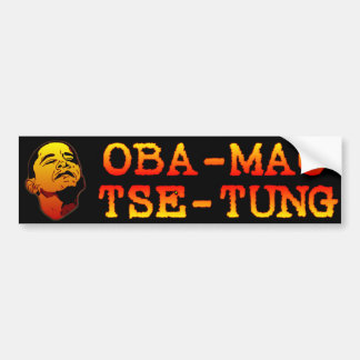 Oba Mao Zedong Autocollant De Voiture