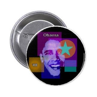 Obama '08 pin's